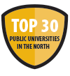 Top 30 Public Universities in the North